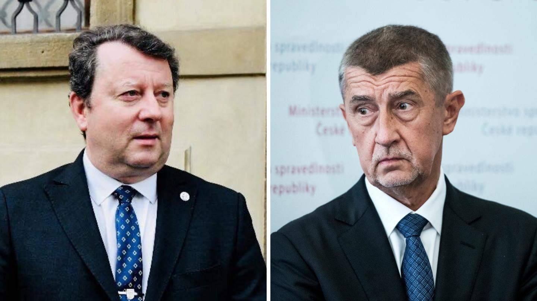 Ministr kultury Antonín Staněk a premiér Andrej Babiš