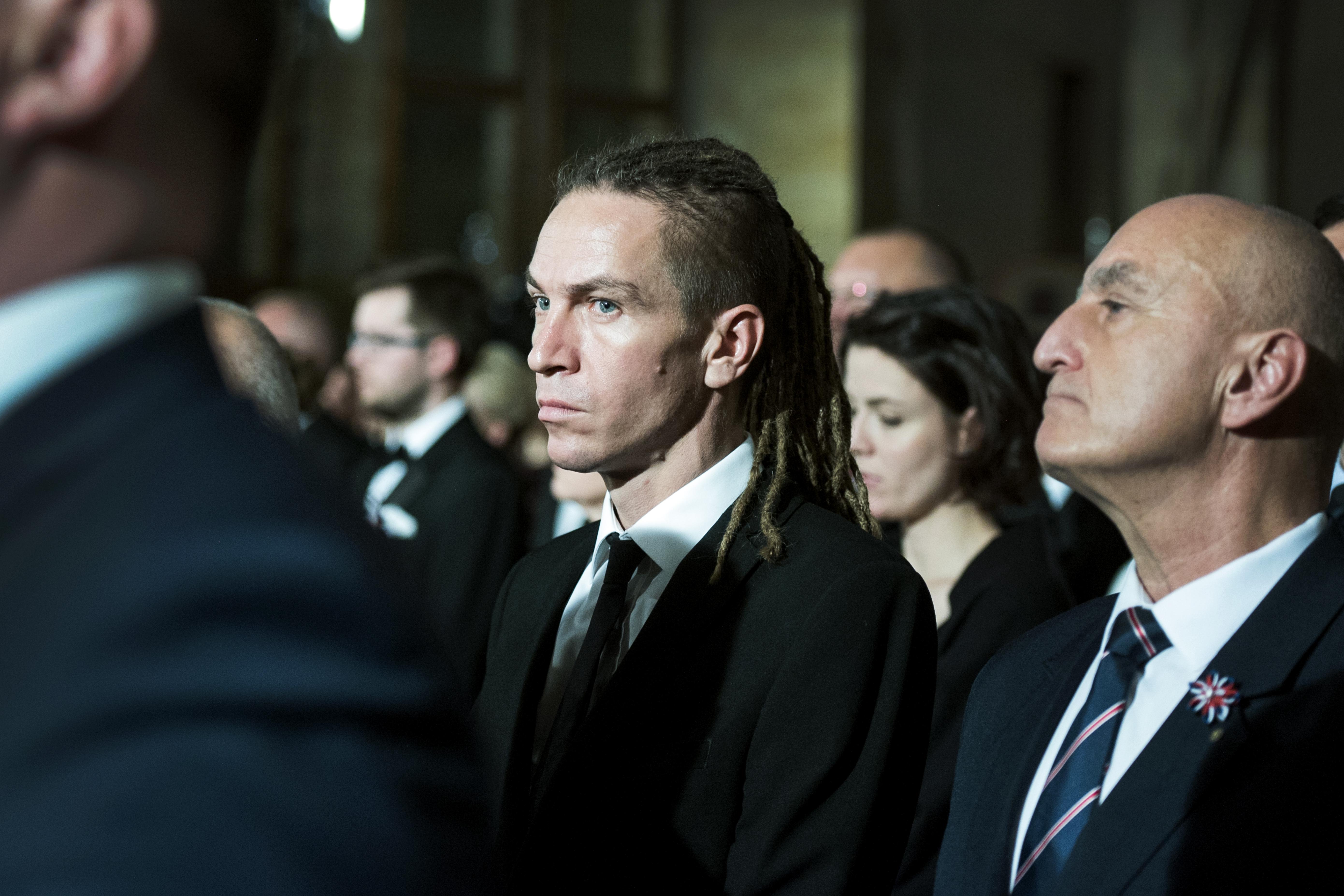 Předseda Pirátů Ivan Bartoš ve Vladislavském sále
